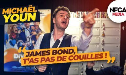 ITW: James Bond, Corona virus: MICHAËL YOUN et VINCENT DESAGNAT