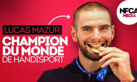 🔎 Lucas Mazur : Double champion du monde de Parabadminton.
